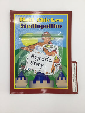 Half Chicken Magnetic Story Book