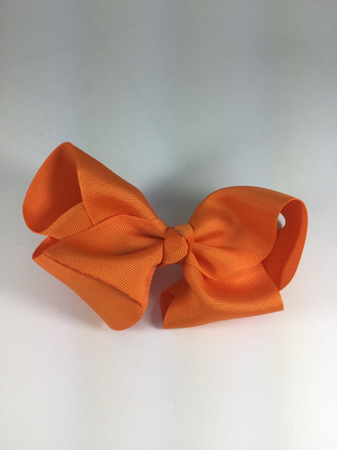 X-Large Solid Orange Cuteypie Clips
