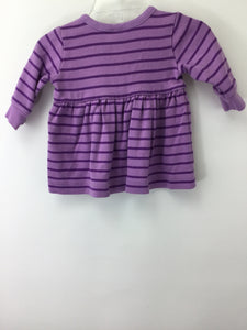 Hanna Andersson Child Size 0-3 Months Purple Dress - girls