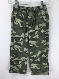 Old Navy Child Size 2 Green Camoflage Pants - boys