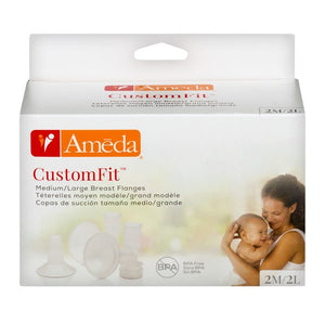 Ameda CustomFit Breast Flanges - 2XL/2XXL