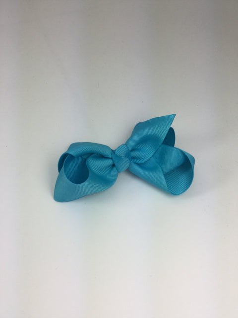 Large Solid Modern Turquoise Cuteypie Clips