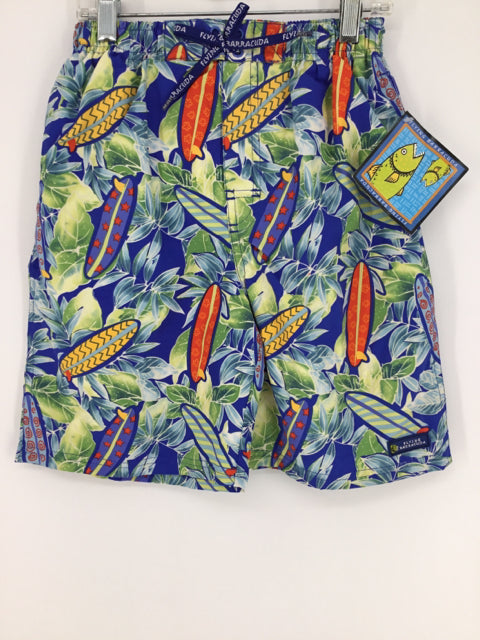 Barracuda Child Size 8 Tropical Swimwear - boys
