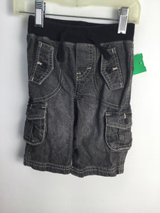 Baby Gap Child Size 3-6 Months Gray Solid Denim Jeans - boys