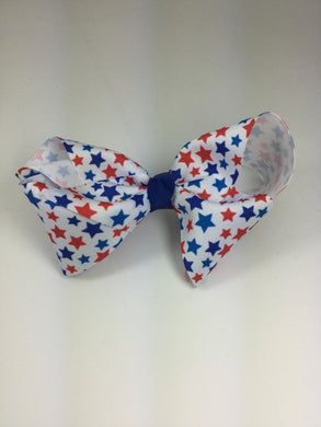 X-Large Red, White & Blue Stars Cuteypie Clips