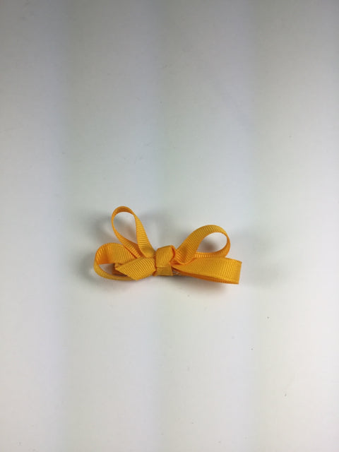 Mini Solid Yellow Gold Cuteypie Clips