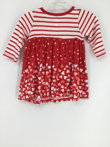 Old Navy Child Size 3-6 Months Valentine's Day Dress