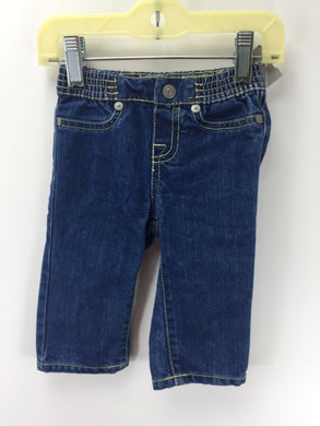7 for all Mankind Child Size 3-6 Months Solid Jeans - boys
