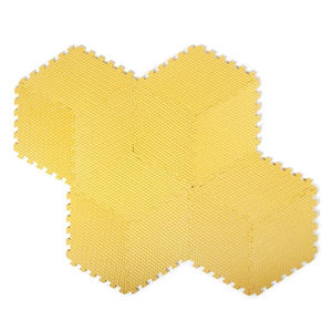 Tadpoles 12 Piece Rhombus Foam Playmat - Yellow