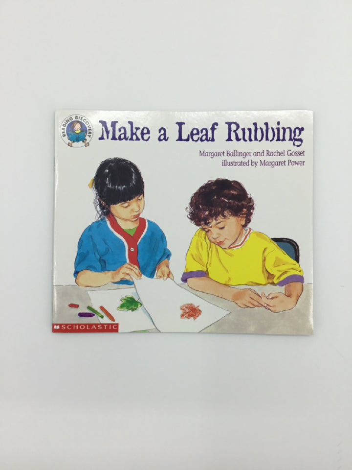 Make a Leaf Rubbing Book