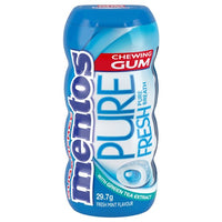 Mentos Chewing Gum with Green Tea Extract 29.7g