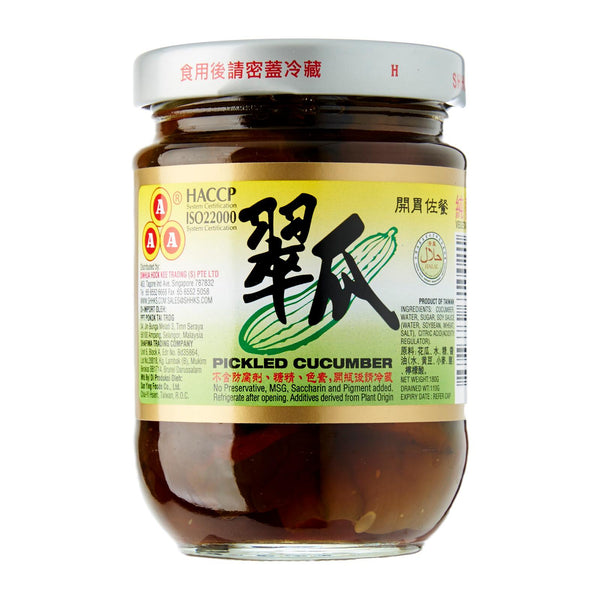 AAA Pickled Cucumber 180g