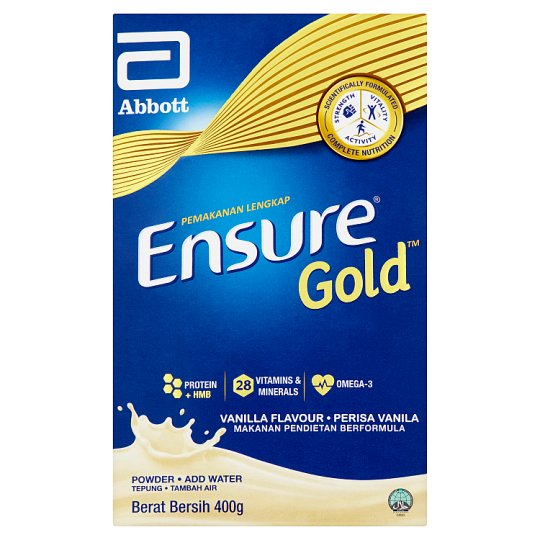 Abbott Ensure Gold Vanilla Milk Powder 400g