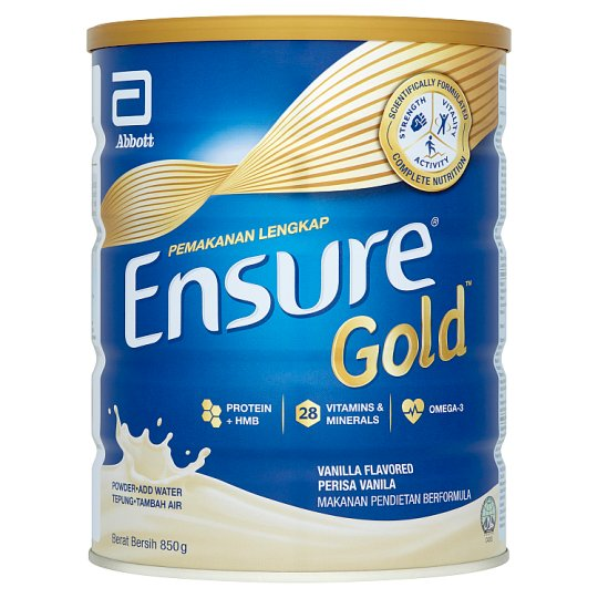 Abbott Ensure Gold Vanilla Milk Powder 850g
