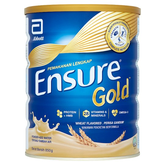 Abbott Ensure Gold Wheat Milk Powder 850g