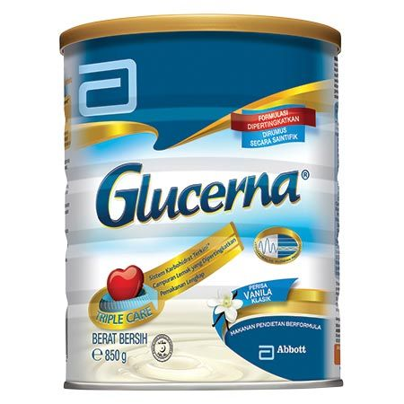 Abbott Glucerna Vanilla Milk Powder 850g