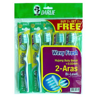 Darlie Wavy Toothbrush Buy 3 Free 2