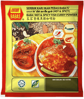 Baba's Hot & Spicy Fish Curry Powder 25g