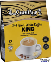 Chek Hup 3in1 Ipoh White Coffee King 12's x 40g
