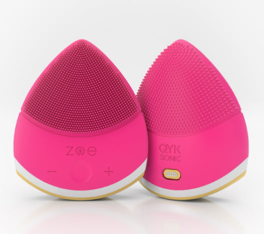 ZOE Bliss Beauty Facial Device - Hot Pink