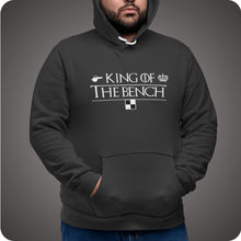 Laden Sie das Bild in den Galerie-Viewer, KING OF THE BENCH - Hoodie - 90PLUS4
