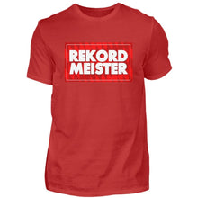 Laden Sie das Bild in den Galerie-Viewer, REKORD MEISTER - Herren Premiumshirt - 90PLUS4