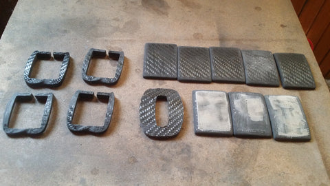 Carbon Fibre Buckles Stage 1