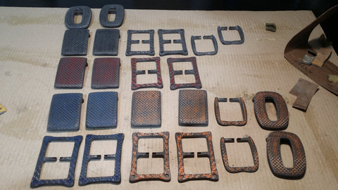 Carbon Fibre Buckles - Stage 4