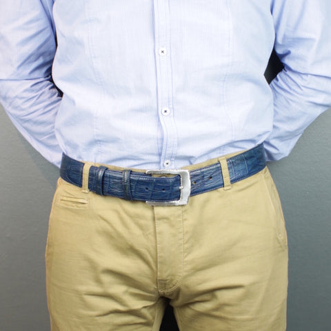 Men's belt 40mm wide - chinos