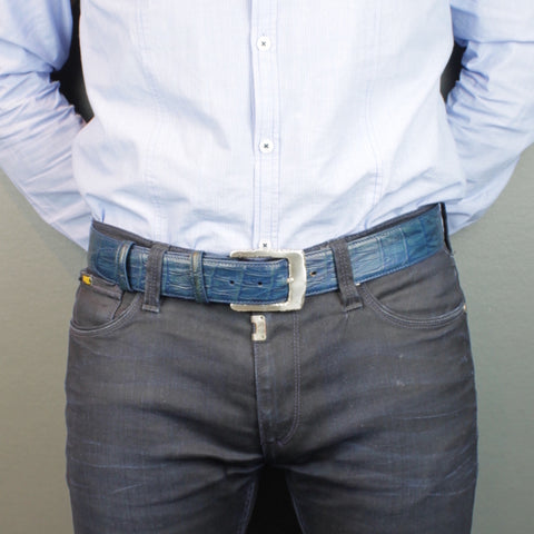 553561c5e Men's belt 40mm wide - chinos. The 40mm width is one we promote for denim  and most casual wear occasions. This width fills the loops of your jeans  nicely ...