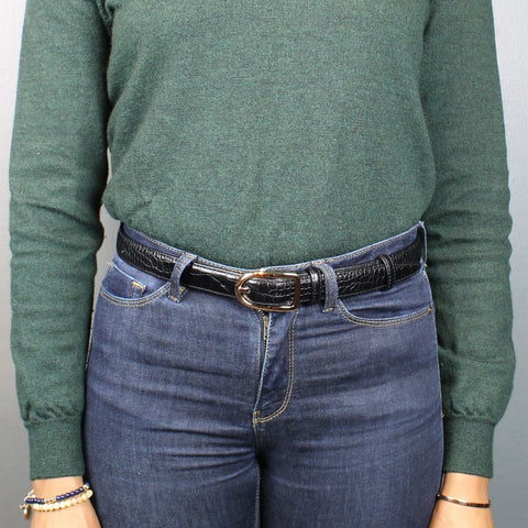Women's jeans belt - 25mm wide