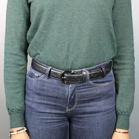 Women's jeans belt - 30mm wide