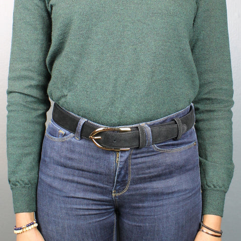 Women's jeans belt - 35mm wide