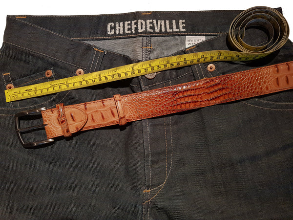 Trouser & Belt sizing