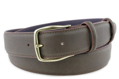 Bogart Mottled Brown Belt