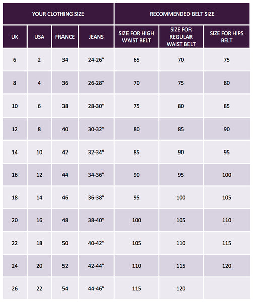 jeans size guide uk womens