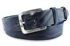 Mens Navy Vintage Feel Jeans Belt