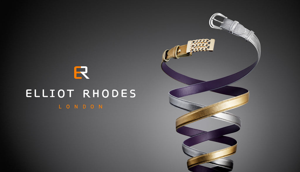 Elliot Rhodes Intertwined Metallic Belts