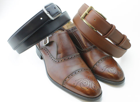 Brown shoes - Black or Brown belt?