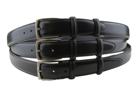 Elliot Rhodes Belts buckled in 3 different holes