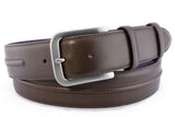 Mens Dark Brown Redford Jeans Belt