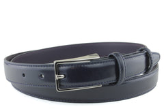 Skinny Mens Navy Blue Belt