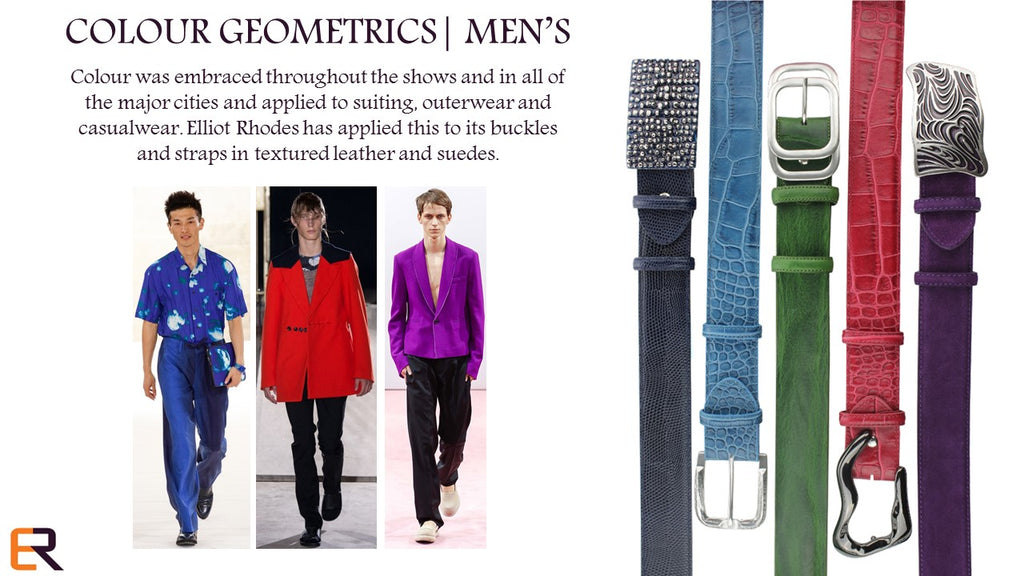 MENS COLOUR POP AUTUMN 2015