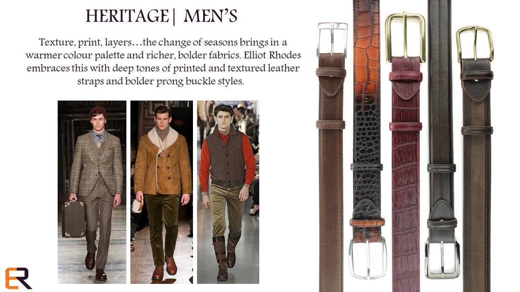 MENS HERITAGE AUTUMN 2015