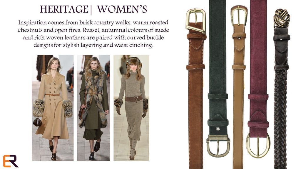 WOMENS HERITAGE AUTUMN 2015