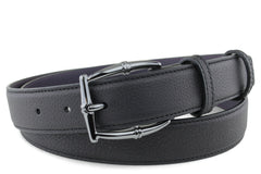 Novak Black Womens bamboo Buckle Belt