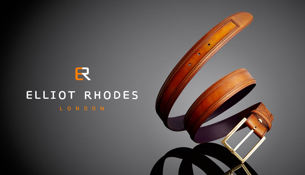 Elliot Rhodes Wrap Tan Cordovan Belt