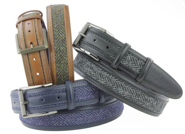 Tweed belts collection