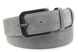 Grey Suede Jeans Belt