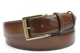 Silverado Contemporary Tan Jeans Belt